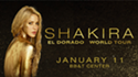 Win 2 tickets to see SHAKIRA'S WORLD TOUR at the BB&T Center!